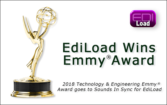 EdiLoad Wins Emmy® Award