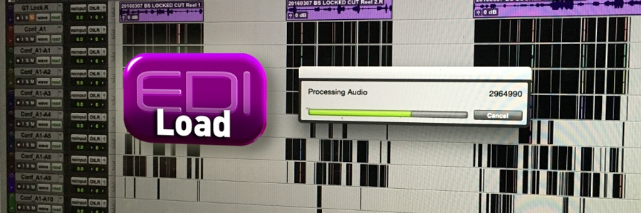Conforming (assembling) Location WAV Files with EdiLoad and Pro Tools