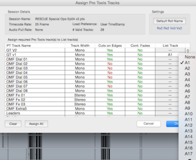 Import Edit Data from Pro Tools Sessions
